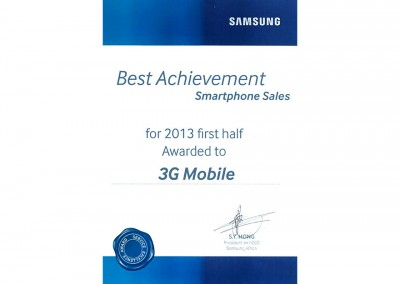 Best-Achievment-first-half-Mobile-Sales