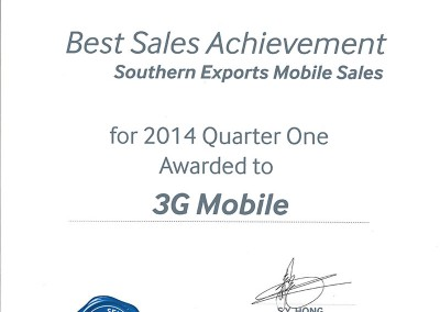 Best-Sales-Achievement-Q4-2014