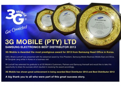 Samsung-best-Distibutor-Award-2013
