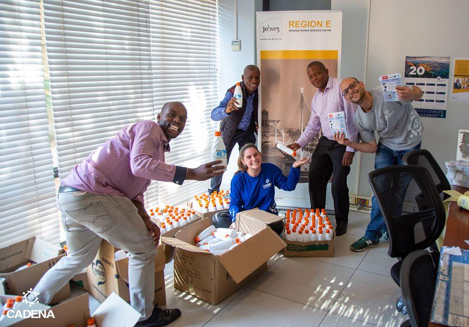 Cadena South Africa Donation